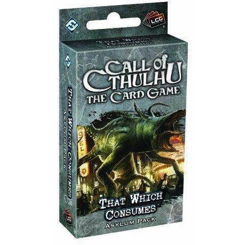 Call of Cthulhu LCG: That Which Consumes Asylum Pack