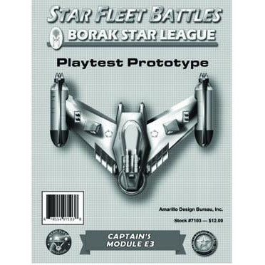 Star Fleet Battles: Module E3 - Borak Star League