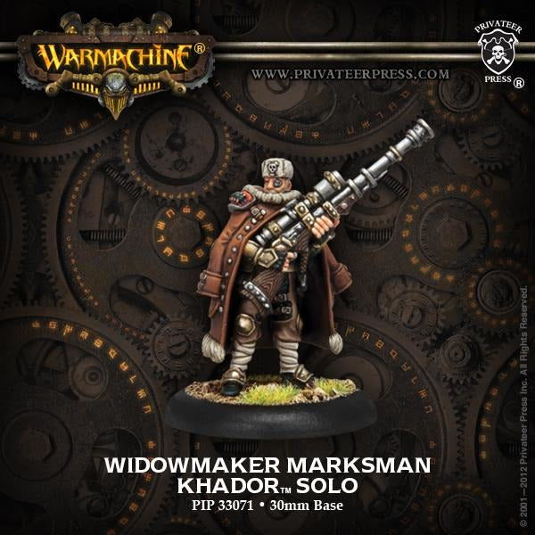Warmachine: Khador Widowmaker Marksman Solo