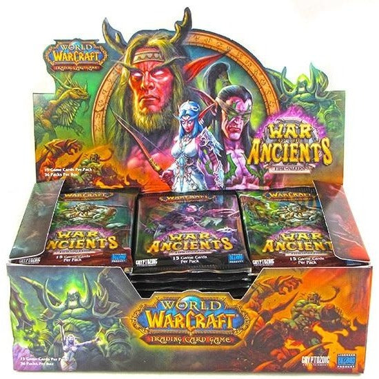 World of Warcraft CCG: Timewalkers War of the Ancients Booster Display