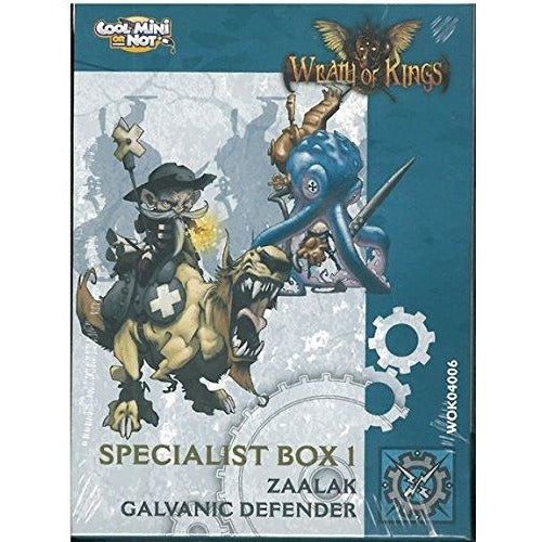 Wrath of Kings: House Teknes - Rank 1 Specialist Box