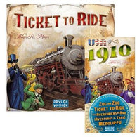Ticket To Ride Bundle: Ticket to Ride Plus USA 1910 Expansion