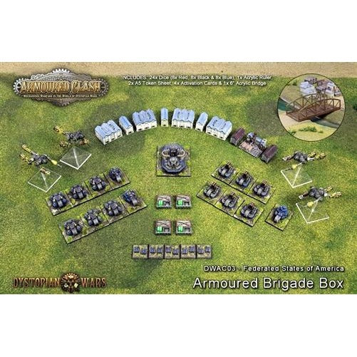 Armoured Clash: Federated States Armoured Brigade Box