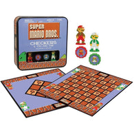 Checkers Tic-Tac-Toe Super Mario Brothers