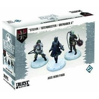 Dust Tactics: Axis Hero Pack