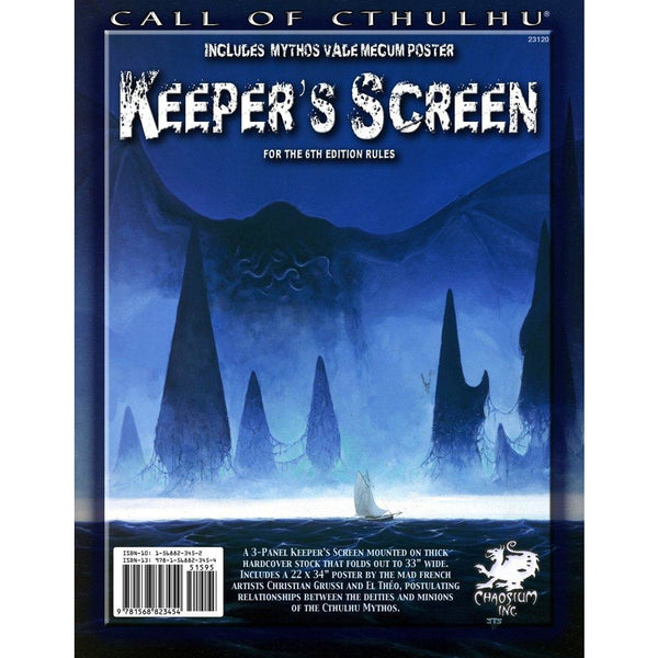 Call of Cthulhu: Keepers Screen