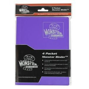 Binder: 4pkt Monster Matte Pu