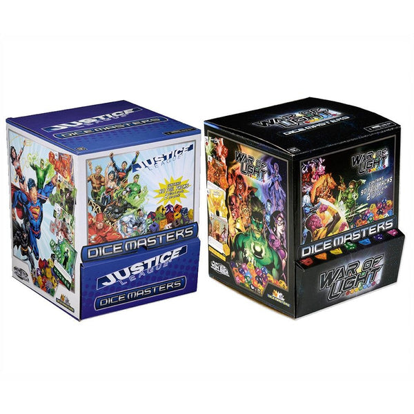 DC Dice Masters Bundle: Justice League and War of Light Gravity Feeds