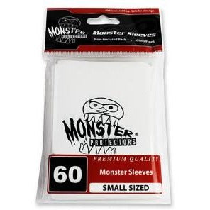 Dp: Small Monster Logo Wh (60)