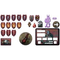Dungeons and Dragons RPG: Heroes of Shadow Blackguard Token Set