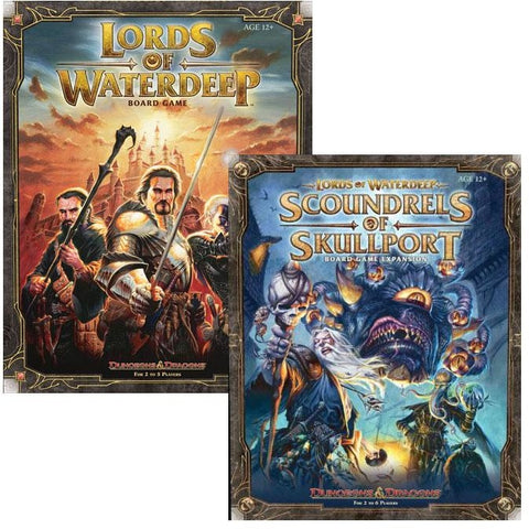 Lords of Waterdeep Bundle: Core Plus Scoundrels of Skullport Expansion