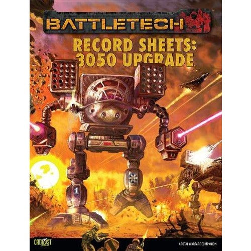 BattleTech: Record Sheets 3050 Upgrade