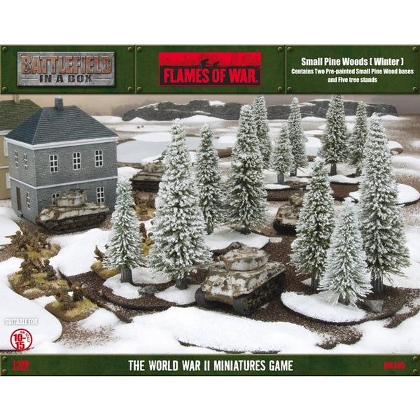 Battlefield in a Box: Small Pine Wood Winter