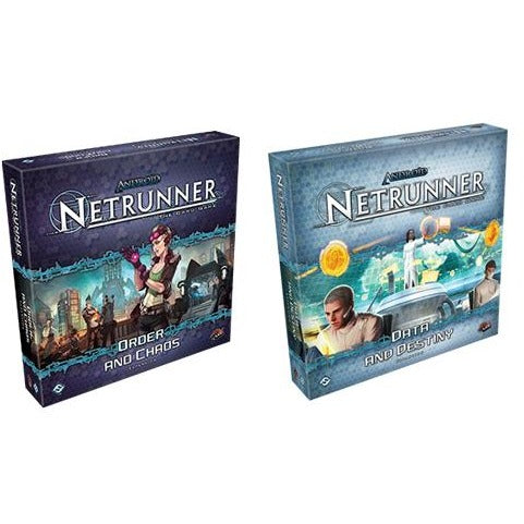 Android Netrunner LCG Bundle:   Order and Chaos and Data and Destiny Expansion
