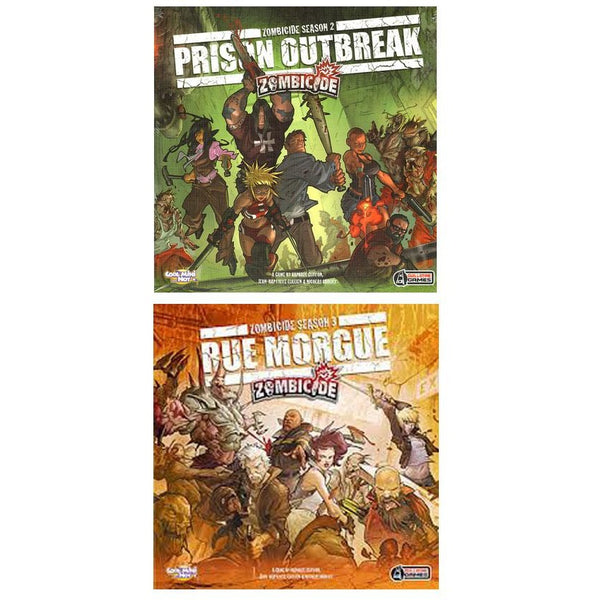 Zombicide Bundle: Prison Outbreak and Rue Morgue Expansion