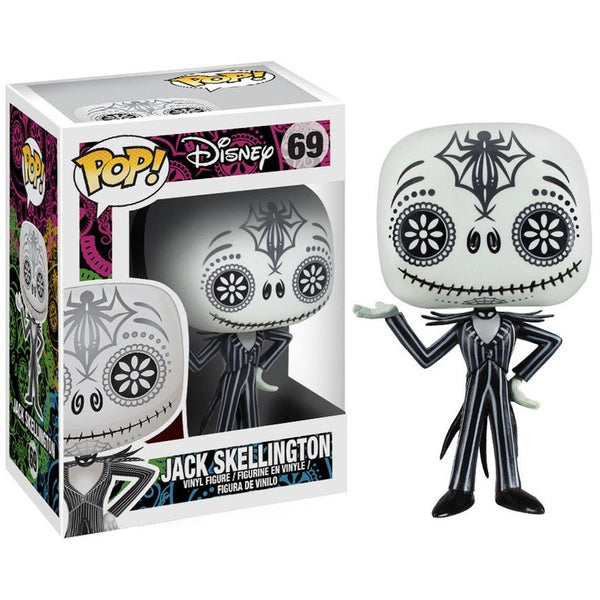Pop! Disney: Nightmare Before Christmas - Day Of The Dead Jack Skellington