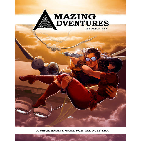 Amazing Adventures RPG: Core Rules Hardcover