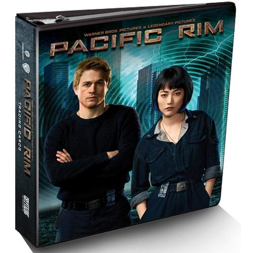 Pacific Rim Trading Cards Binder