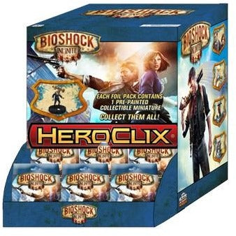 BioShock Infinite HeroClix: 24 Count Gravity Feed Display