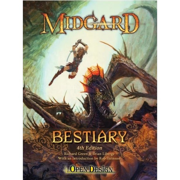 Dungeons and Dragons RPG: Midgard Bestiary 4th Edition