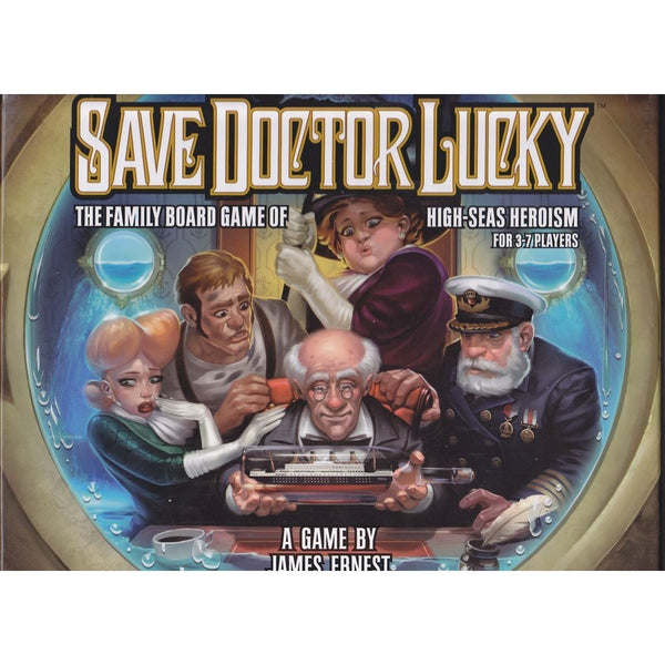 Save Doctor Lucky: Board Game (Deluxe Edition)