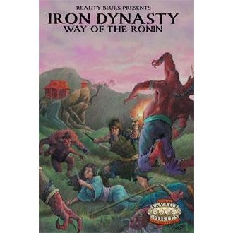 Savage Worlds RPG: Iron Dynasty Way of the Ronin