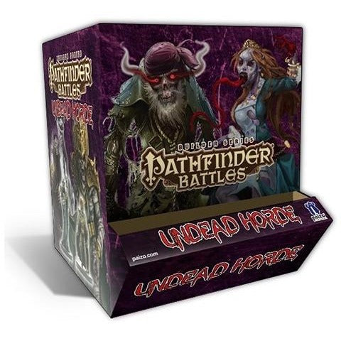 Pathfinder Battles: Builder Series Undead Horde 24-count Gravity Feed Display