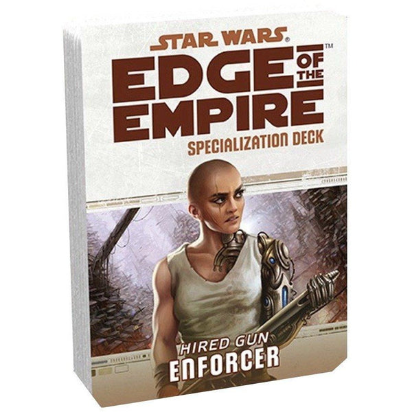 Star Wars RPG: Edge of the Empire Enforcer Specialization Deck
