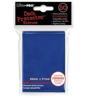 Blue Solid 50 Count Deck Protector Display (12)