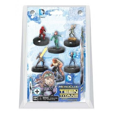 DC HeroClix: Teen Titans - The Ravagers - Fast Forces Pack