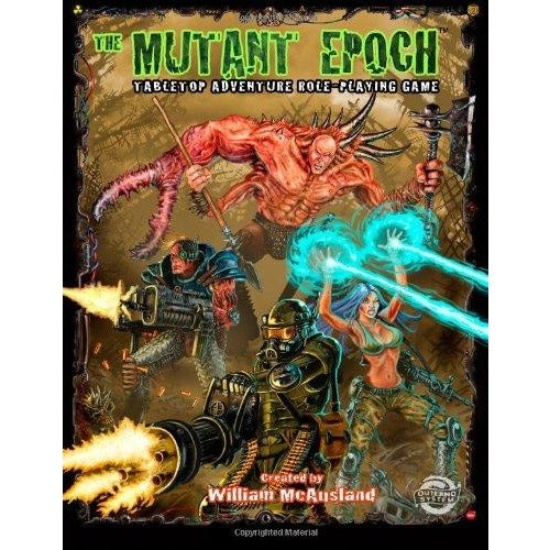 Mutant Epoch RPG: Core Rules