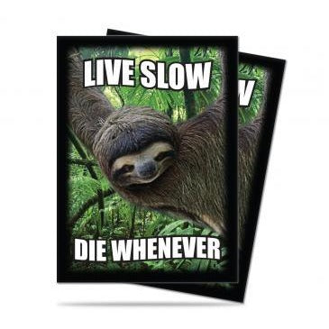 Critter Fun Sloth Standard Size Deck Protectors Pack