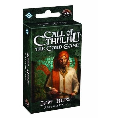 Call of Cthulhu LCG: Lost Rites Asylum Pack