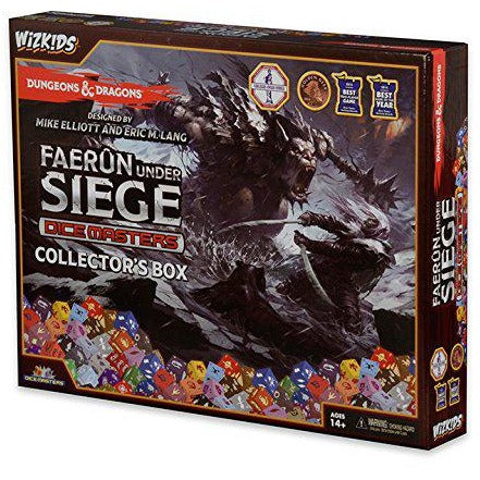 Dungeons and Dragons Dice Masters: Faerun Under Seige Collectors Box