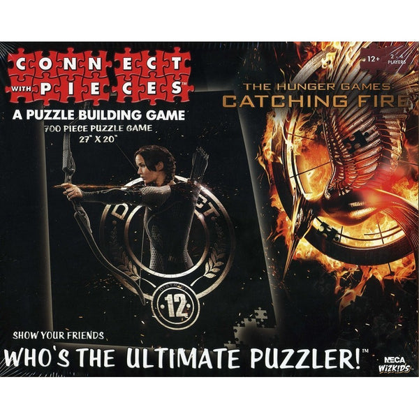 The Hunger Games: Catching Fire Movie Connect with Pieces Puzzle Building Game