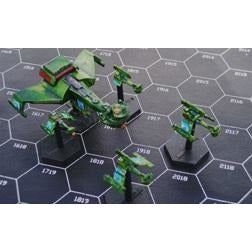 Starline 2400 Miniatures: Klingon B10 Fleet Box
