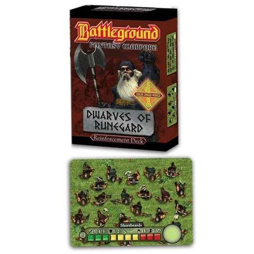 Battleground Fantasy Warfare: Dwarves of Runegard Reinforcemen
