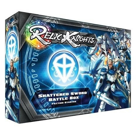 Relic Knights: Dark Space Calamity - Shattered Sword Paladins Battle Box