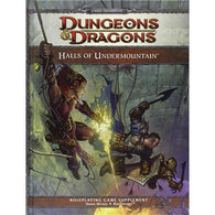 Dungeons and Dragons RPG: Halls of Undermountain