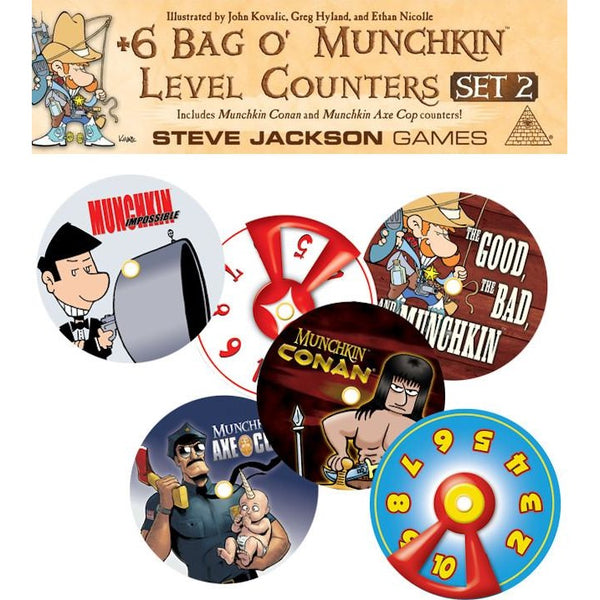Bag O Munchkins: Level Counters Set 2