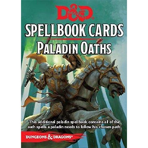 Dungeons and Dragons RPG: Paladin Oaths Deck (24 cards)