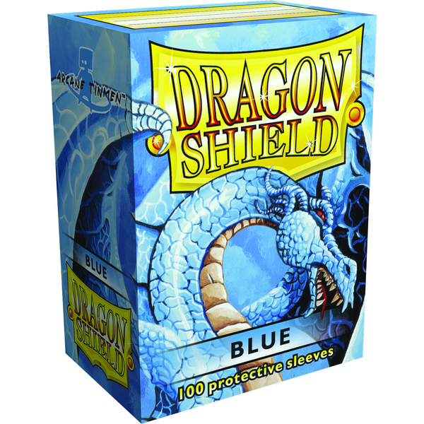 Dragon Shields: (100) Blue