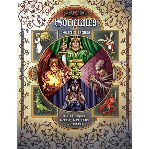 Ars Magica: House of Hermes Societates Hardcover (Revised)