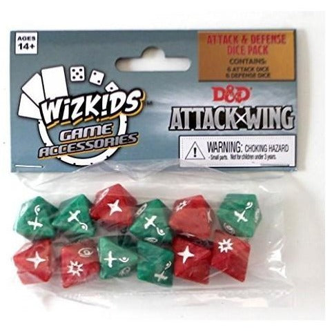 Attack Wing: Dungeons and Dragons Dice Set