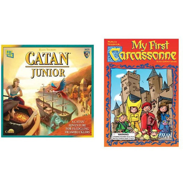 Junior Bundle: Catan Junior and My First Carcasonne