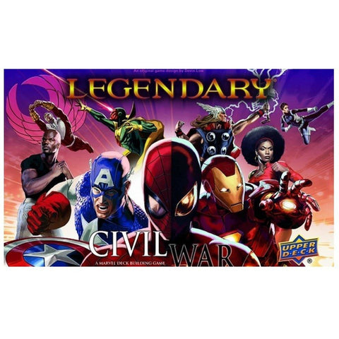 Legendary DBG: Marvel Civil War Expansion