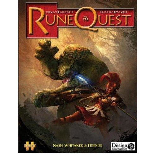 RuneQuest RPG: 6th Edition Hardcover