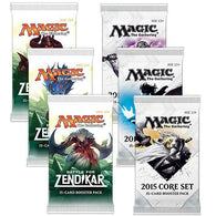 Magic the Gathering Bundle: 3 X 2015 Core Set and 3 X Magic Origins Booster Packs
