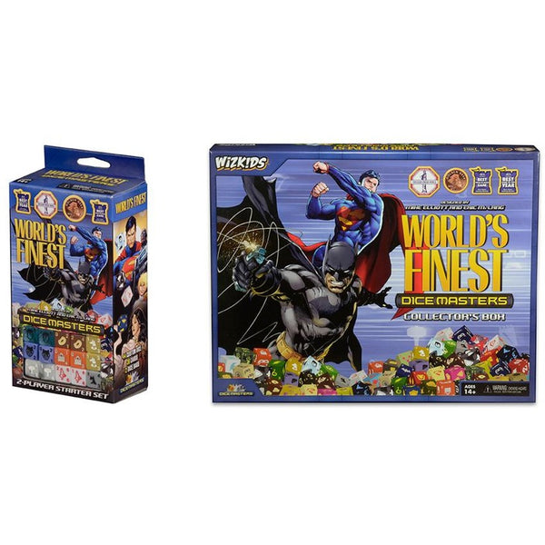 DC Dice Masters Bundle: Worlds Finest Collectors Box and Starter Set