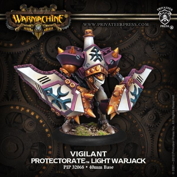 Warmachine: The Protectorate of Menoth Vigilant Light Warjack (Plastic)